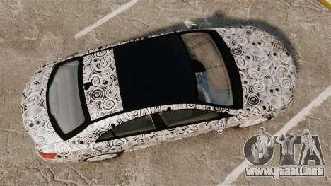 Mercedes-Benz CLA 250 2014 AMG Prototype para GTA 4 visión correcta