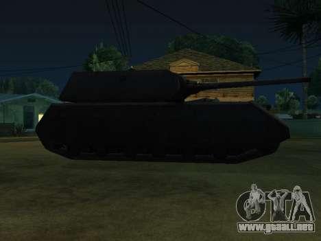 PzKpfw VII Maus para GTA San Andreas vista posterior izquierda