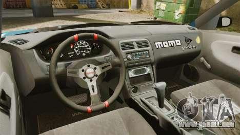 Mazda RX-7 Kawabata Toyo para GTA 4 vista hacia atrás