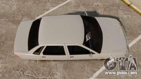 ВАЗ-Lada 2170 Priora v2.0 para GTA 4 visión correcta