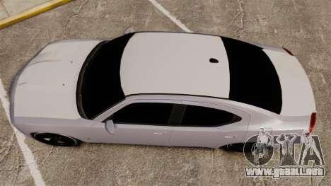 Dodge Charger SRT8 2007 para GTA 4 visión correcta