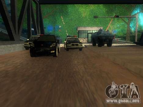 Customs Los Santos, San Fierro para GTA San Andreas quinta pantalla