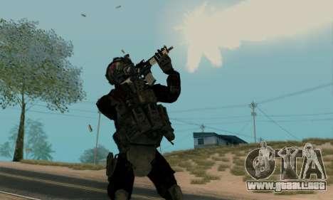 Kopassus Skin 2 para GTA San Andreas segunda pantalla