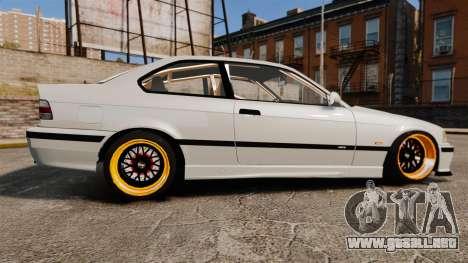 BMW M3 E36 para GTA 4 left