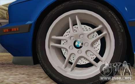 BMW M5 E34 1994 NA-spec para GTA San Andreas vista posterior izquierda