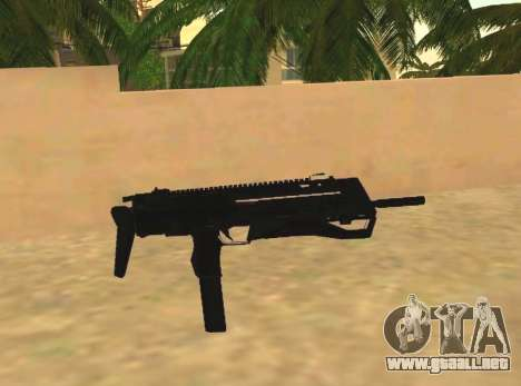 MP7 para GTA San Andreas