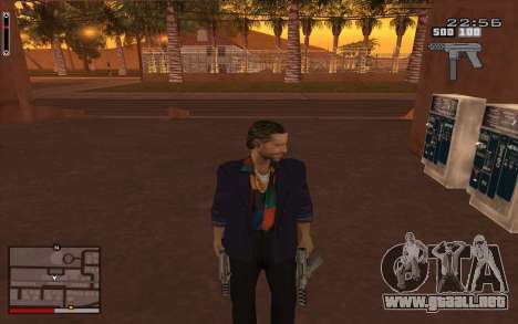 C-HUD GTA 5 para GTA San Andreas tercera pantalla