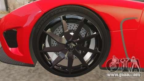 Koenigsegg Agera R [EPM] NFS para GTA 4 vista hacia atrás