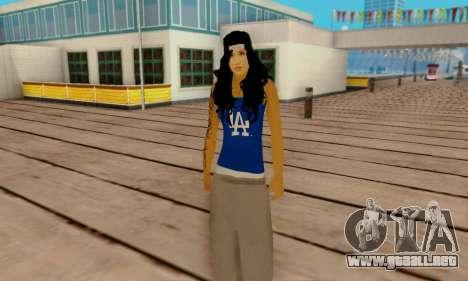 Ophelia v2 para GTA San Andreas sucesivamente de pantalla