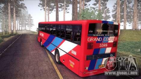 Grand Courier 5588 para GTA San Andreas left