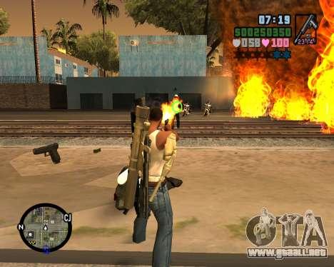 C-HUD Vice Sity para GTA San Andreas segunda pantalla