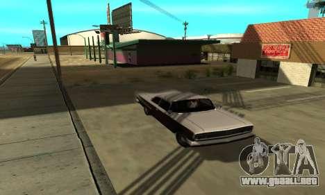 Sombras en el estilo de RAGE para GTA San Andreas sucesivamente de pantalla