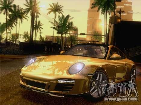 Porsche 911 Targa 4S para GTA San Andreas left