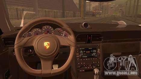 Porsche 911 Carrera GTS 2011 para la visión correcta GTA San Andreas