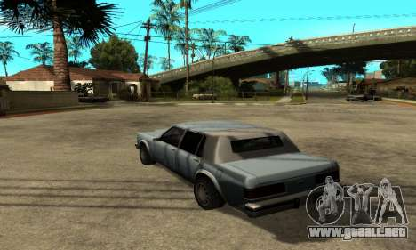 Sombras en el estilo de RAGE para GTA San Andreas segunda pantalla