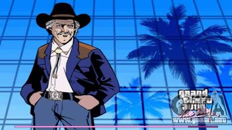 Inicio pantallas con la versión PS2 para GTA Vice City segunda pantalla