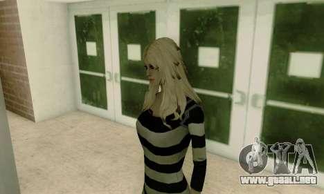 Young Blonde para GTA San Andreas quinta pantalla