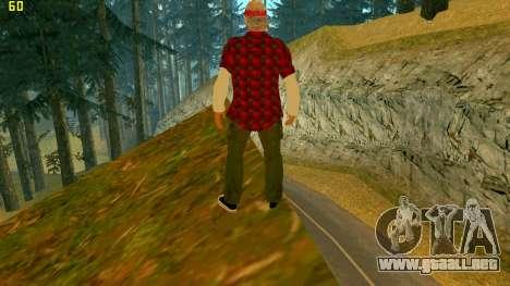 La nueva textura de la Verdad para GTA San Andreas segunda pantalla
