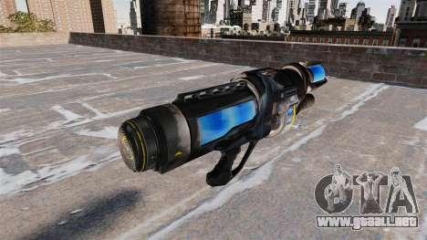La congelación de armas para GTA 4 segundos de pantalla