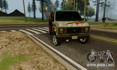 Ford E-150 GT-Shop para visión interna GTA San Andreas