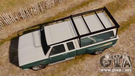 Bobcat Hi Poly para GTA 4 visión correcta