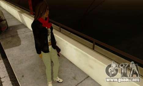 Kim Kameron para GTA San Andreas quinta pantalla