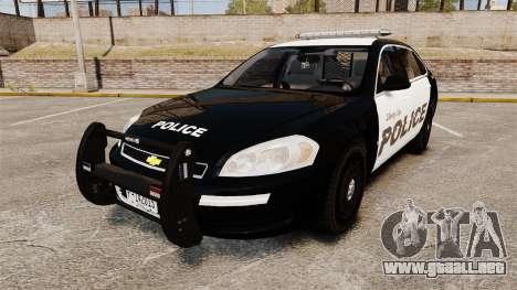 Chevrolet Impala 2008 LCPD [ELS] para GTA 4