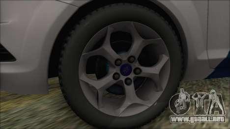 Ford Focus 2008 Station Wagon Hungary Police para la visión correcta GTA San Andreas