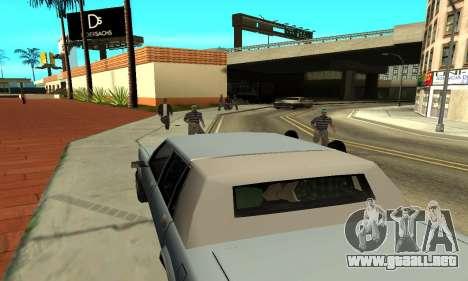 Sombras en el estilo de RAGE para GTA San Andreas séptima pantalla