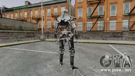 Terminator T-800 para GTA 4 segundos de pantalla