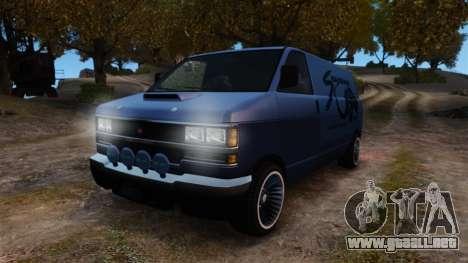 Burrito Bodybuilder para GTA 4 vista hacia atrás