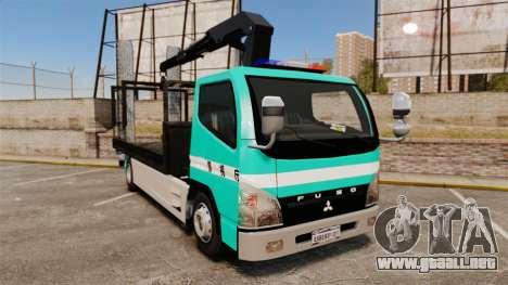 Mitsubishi Fuso Canter Japanese Auto Rescue para GTA 4