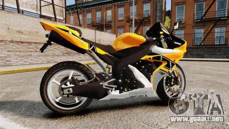 Yamaha R1 RN12 v.0.95 para GTA 4 left