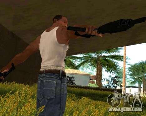 MP7 para GTA San Andreas sucesivamente de pantalla