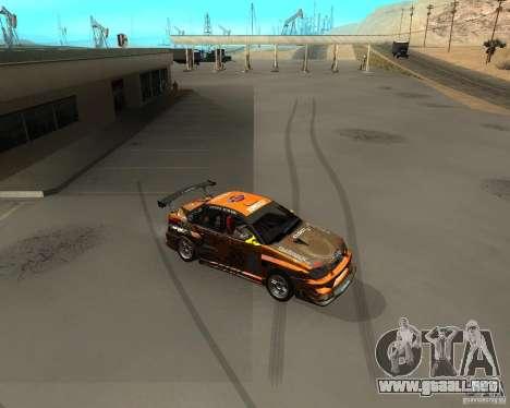 Cleo Drift para GTA San Andreas segunda pantalla