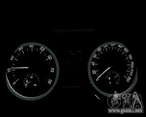 Skoda Octavia A7 para el motor de GTA San Andreas