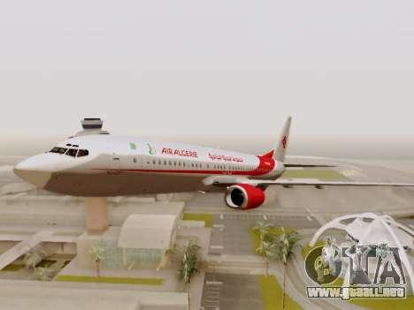 Boeing 737-800 Air Algerie para la vista superior GTA San Andreas