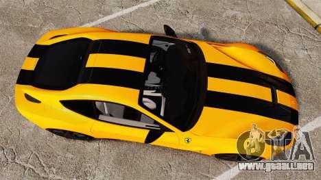 Ferrari F12 Berlinetta 2013 [EPM] Black bars para GTA 4 visión correcta