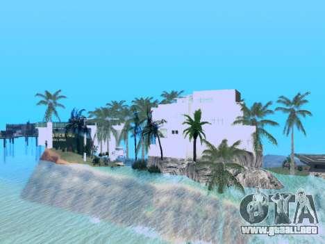 Nueva isla V2.0 para GTA San Andreas tercera pantalla