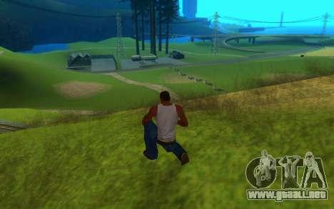 Sweet ENB Next Generation para GTA San Andreas segunda pantalla