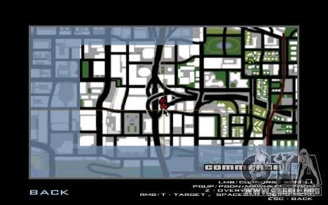 Tuning Mod 0.9 para GTA San Andreas sexta pantalla