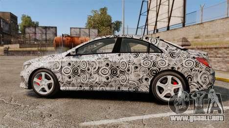 Mercedes-Benz CLA 250 2014 AMG Prototype para GTA 4 left