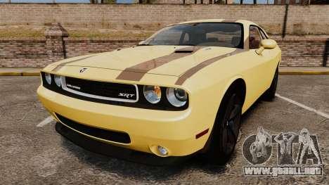 Dodge Challenger SRT8 2009 [EPM] APB Reloaded para GTA 4