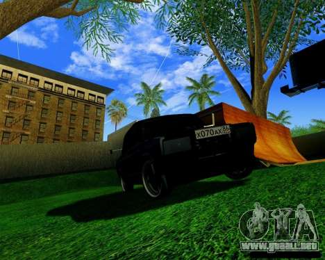 Most Wanted Enb v.2.0 para GTA San Andreas tercera pantalla