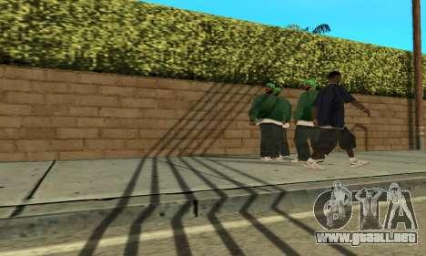 Sombras en el estilo de RAGE para GTA San Andreas tercera pantalla