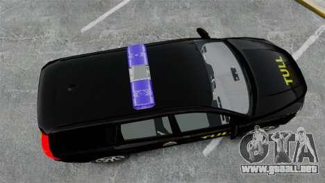 Volvo V70 Swedish TULL [ELS] para GTA 4 visión correcta