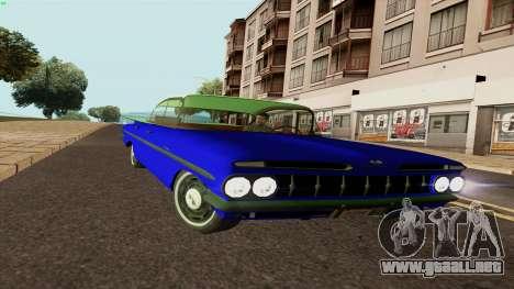 Chevrolet Bel Air De 1959 para GTA San Andreas