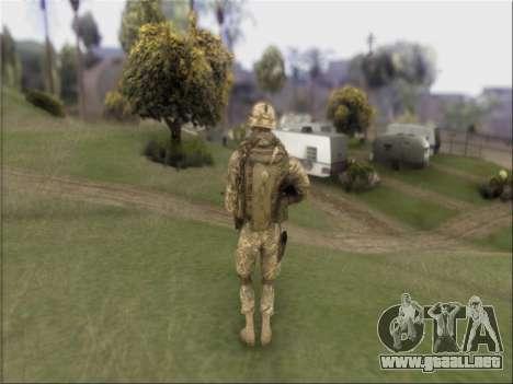 US Army Skin para GTA San Andreas tercera pantalla