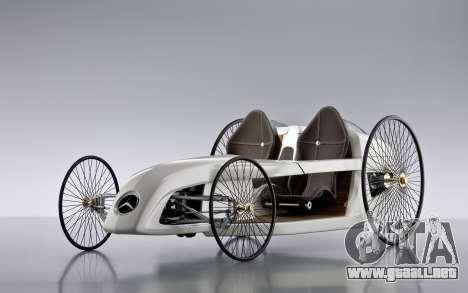 Inicio pantallas de Mercedes-Benz F-CELL Roadste para GTA 4 adelante de pantalla