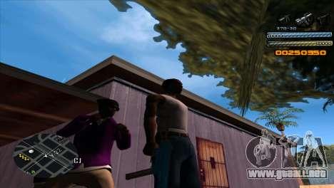 C-HUD Light para GTA San Andreas segunda pantalla
